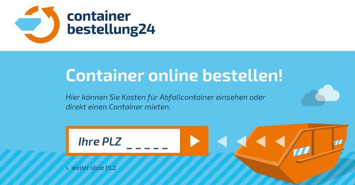 Container mieten ✓ | Containerbestellung 24